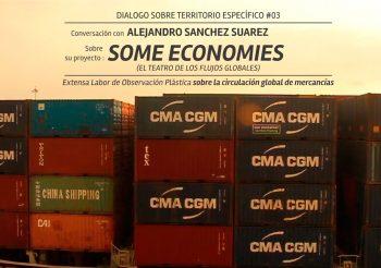 DIALOGO #3: SOME_ECONOMIES DE ALEJANDRO SANCHEZ SUAREZ (CO) | PAISAJISMO DE LA RED GLOBAL DE MERCANCÍAS